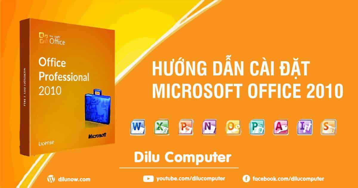 giao diện icon microsoft office 2010